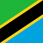 Tansanische Flagge