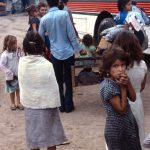 Flüchtlinge Zentralamerika Flüchtlinge in Honduras. | Bild (Ausschnitt): © Linda Hess Miller - Wikimedia Commons