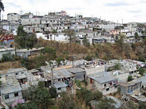 Slum in Guatemala