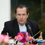 Daniel Ortega  Bild (Ausschnitt): © Cancillería del Ecuador [CC BY-SA 2.0]  - Flickr