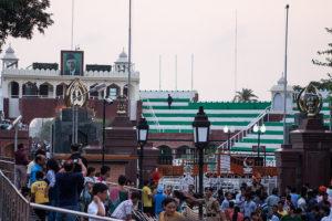 indisch-pakistanische Grenze