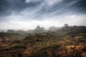 Berge in Äthiopien