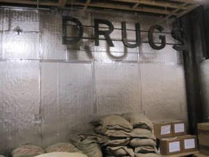 Schild - Drogen