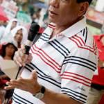 Rodrigo Duterte Der philippinische Präsident Rodrigo Duterte kämpft in seinem Land mit brutalen Mitteln gegen Drogen. | Bild (Ausschnitt): © Keith Kristoffer Bacongco [CC BY 2.0]  - Wikimedia Commons