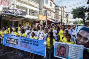 Proteste gegen die Gewalt in Rio de Janeiro