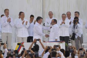 FARC Friedensvertrag