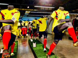 Kolumbien Fußball Trikot WM