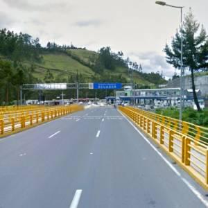 Kolumbien Ecuador Grenze Narino