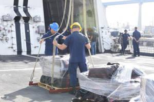Die Küstenwache beschlagnahmte während einer Durchsuchung von acht Schmuggelschiffen vor den Küsten Mexikos eine große Ladung Kokain.