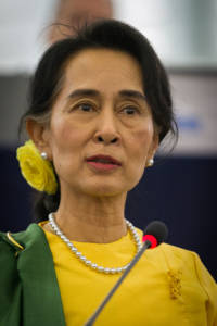 Myanmars Regierungschefin Aung San Suu Kyi